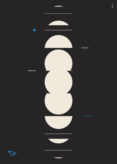 "Plakat ""Moon"" - Mirek Gurzyński"